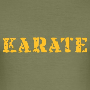 karate - Männer Slim Fit T-Shirt