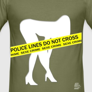 Tee shirt sex crime by CustomStyle - Tee shirt près du corps Homme