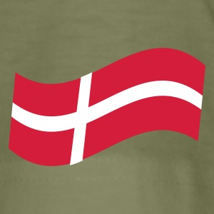 Oliven support our troops Denmark T-shirts - Herre Slim Fit T-Shirt
