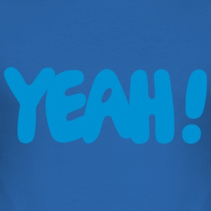 YEAH! - Slim Fit T-shirt herr
