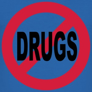 No to drugs T-Shirts - Men's Slim Fit T-Shirt