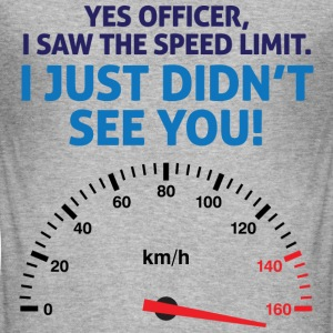 Speed Limit 1 (dd)++ T-shirts - Slim Fit T-shirt herr