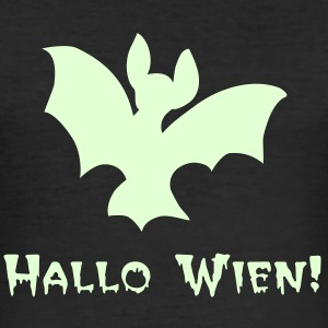 Halloween-Fledermaus - Männer Slim Fit T-Shirt