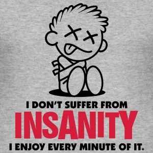 Insanity 2 (2c)++ T-Shirts - Men's Slim Fit T-Shirt