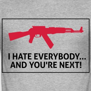 I Hate Everybody 2 (2c)++ T-shirts - slim fit T-shirt