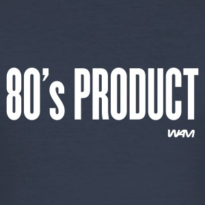 Dark navy 80 's product T-Shirts - Männer Slim Fit T-Shirt