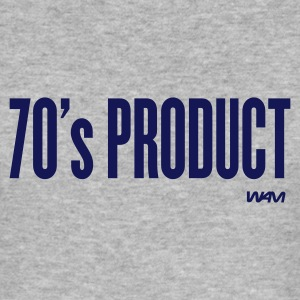 Grau meliert 70 's product T-Shirts - Männer Slim Fit T-Shirt