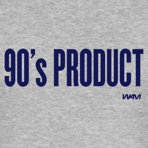 Grau meliert 90 's product T-Shirts - Männer Slim Fit T-Shirt