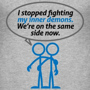 Inner Demons 2 (dd)++ T-Shirts - Männer Slim Fit T-Shirt
