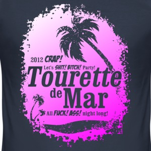 Tourette de Mar - party shirt - Lloret de mar T-Shirts - Men's Slim Fit T-Shirt