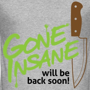 Gone Insane 2 (dd)++ T-skjorter - Slim Fit T-skjorte for menn