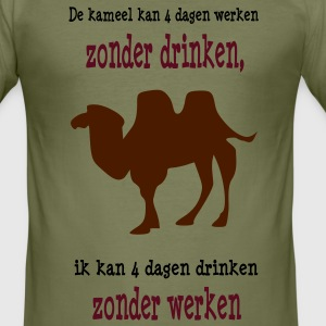 kameel T-shirts - slim fit T-shirt