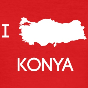I Love KONYA T-Shirts - Männer Slim Fit T-Shirt
