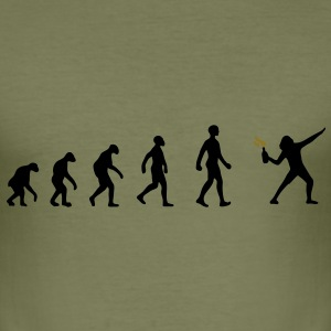 R-evolution, evolution, revolution, street art, anarki T-shirts - Herre Slim Fit T-Shirt