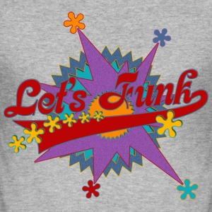 LET'S FUNK - funky music | Männershirt slim fit - Männer Slim Fit T-Shirt