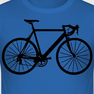 bike bicycle sport Camisetas - Camiseta ajustada hombre