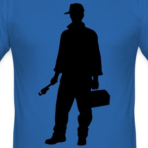 carpenter profession people T-shirts - slim fit T-shirt