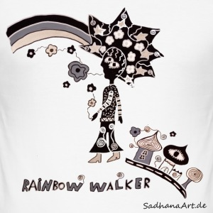 Rainbow Walker  - Männer Slim Fit T-Shirt
