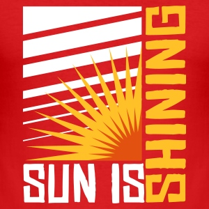 Wine Sun is shining T-Shirts - Männer Slim Fit T-Shirt