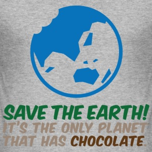 Save The Earth 2 (dd)++ T-Shirts - Men's Slim Fit T-Shirt