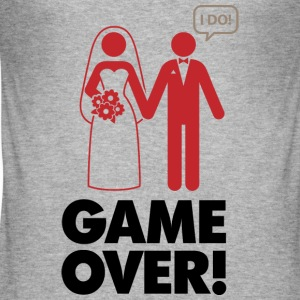 Game Over 1 (dd)++ Camisetas - Camiseta ajustada hombre