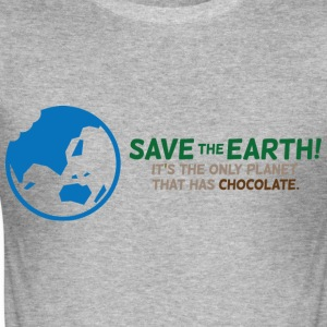Save The Earth 1 (dd)++ T-Shirts - Men's Slim Fit T-Shirt