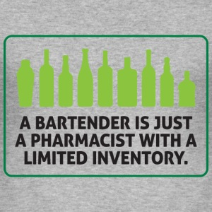 Bartender Pharmacist 1 (dd)++ T-shirts - Herre Slim Fit T-Shirt