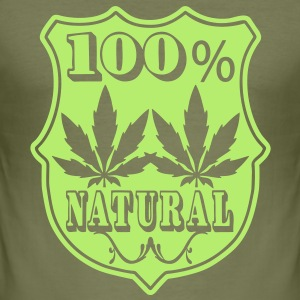 100% natural T-shirts - slim fit T-shirt