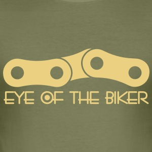 Eye Of The Biker - Chain - camel/sand - Männer Slim Fit T-Shirt
