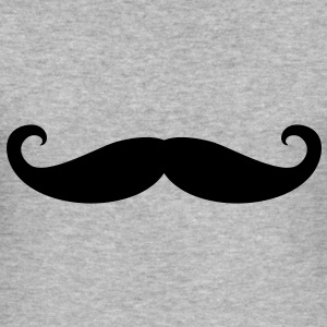 Zwirbelbart / Moustache | Männershirt slim fit - Männer Slim Fit T-Shirt
