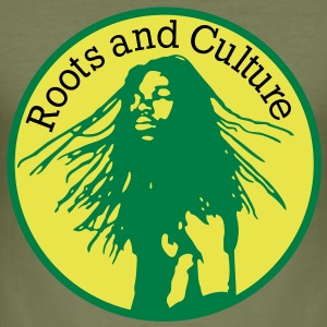 roots and culture T-Shirts - Men's Slim Fit T-Shirt