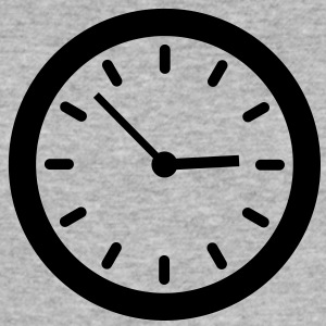 Clock (1c)++ T-shirts - Slim Fit T-shirt herr