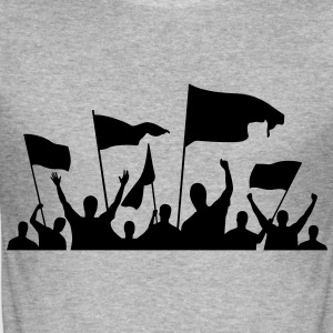 Protesters (1c)++ Tee shirts - Tee shirt près du corps Homme