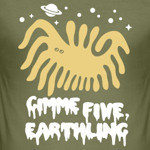 Kakigroen Gimme Five T-shirts - slim fit T-shirt