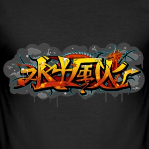 T-shirt Graffiti - Men's Slim Fit T-Shirt