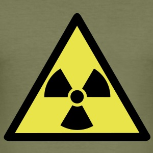 nuclear waste T-Shirts - Men's Slim Fit T-Shirt