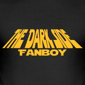 Schwarz a_darkside_fanboy T-Shirts - Männer Slim Fit T-Shirt