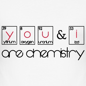 you and i are chemistry T-Shirts - Männer Slim Fit T-Shirt