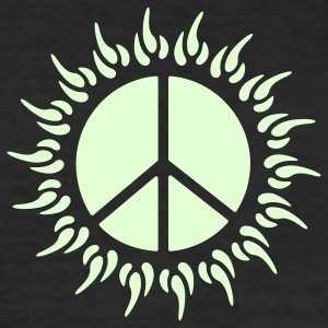 peace sun T-Shirts - Men's Slim Fit T-Shirt