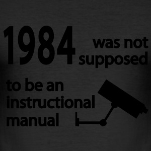 1984 T-Shirts - Men's Slim Fit T-Shirt