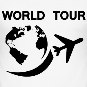 world tour T-shirts - Herre Slim Fit T-Shirt