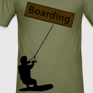 Boarding - Männer Slim Fit T-Shirt