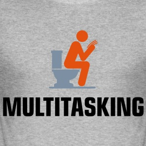 Multitasking 1 (3c)++ T-Shirts - Männer Slim Fit T-Shirt