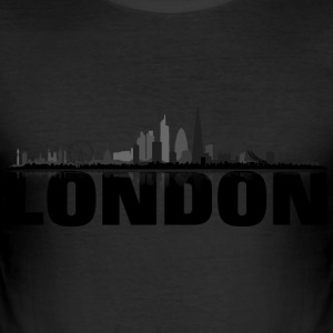 London grey - Männer Slim Fit T-Shirt
