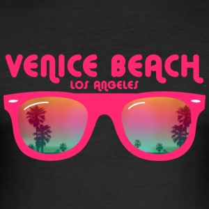 Venice Beach Los Angeles T-Shirts - Men's Slim Fit T-Shirt