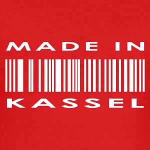 Wine Kassel T-Shirts - Männer Slim Fit T-Shirt
