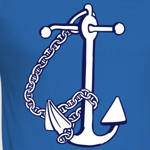 anchor - anker T-shirts - Slim Fit T-shirt herr