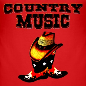 country music T-Shirts - Men's Slim Fit T-Shirt