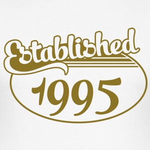 Birthday-Shirt - Geburtstag - Established 1995 (es) Camisetas - Camiseta ajustada hombre