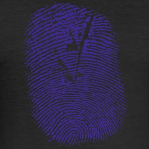 fingerprint... - Männer Slim Fit T-Shirt